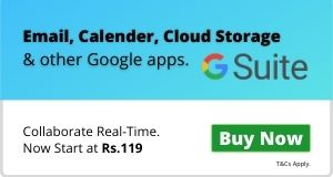 Enterprise Email starting at Rs. 65
